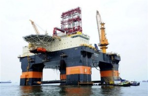Repsol Scarabeo-9 for deepwater exploratory drilling off Cuba