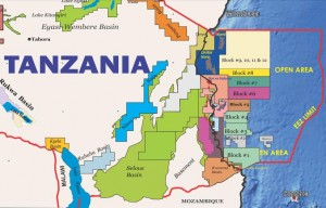Tanzania schedules 4th licencing round for October 25, 2013