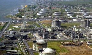 Shell operated Bonny Island  oil terminal in Nigeria
