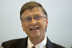 Philanthropist and Microsoft co-founder Bill Gates