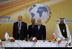 Iranian Oil Minister Bijan Namdar Zanganeh addressed the opening ceremony of GECF's ministerial meeting.