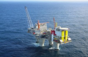 Norway's Statoil Troll A gas platform,  North Sea