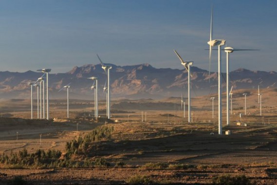 The Ashegoda wind farm in Ethiopia will provide a source of renewable electricity for nearly one million people each year