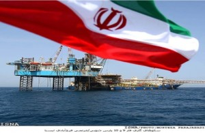 Iran's south pars gas platform