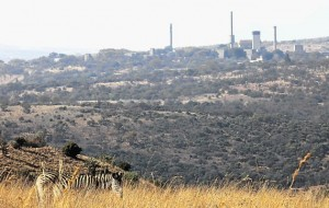 Pelindaba, South Africa's main nuclear research centre, where this country's atomic weapons were developed in the 1970s. Image by: Alon Skuy