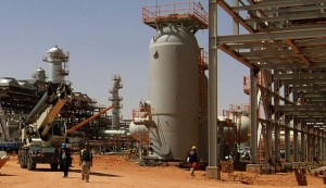 Algeria's In Amenas gas field. Algeria has the second-largest gas reserves in Africa