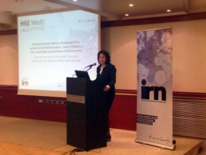Commissioner Maria Damanaki, European Commissioner for Maritime Affairs and Fisheries, discussed the crucial nature of her role and announced 2014 as the 'Year of the Mediterranean'.