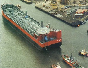 Anasuria is the first purpose-built floating production storage and offloading (FPSO) vessel.