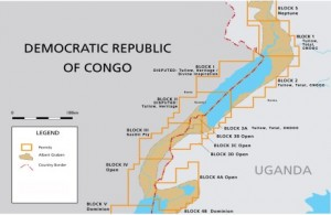 Congo oil blocks