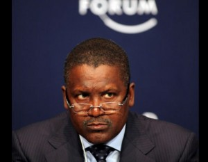 Aliko Dangote, Chairman/CEO Dangote Group