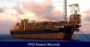 Kwame Nkrumah, the Jubilee Floating Production Storage and Offtake (FPSO) vessel