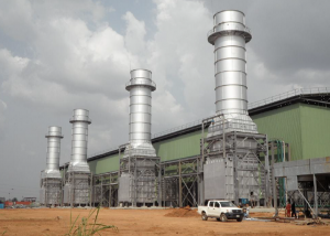 Alaoji power generation station in Abia State: One of Nigeria's 10 power stations built under the National Integrated Power Project, NIPP.