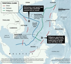 When China parked a giant oil rig in disputed waters off Vietnam, it confirmed what Washington and regional governments have long feared: Beijing is taking a major leap in the defence of its territorial claims.