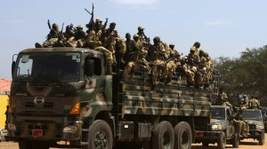 South Sudan army 'ready to assault Bor'.  The fighting has left hundreds dead and sent tens of thousands of people fleeing for protection in U.N. bases. (Reuters)