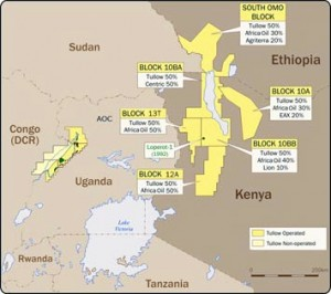 Tullow Oil, first found oil in Uganda's Lake Albert Rift Basin and then extended its exploration to the East African Rift Basins of Kenya and Ethiopia.