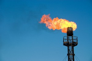 Gas flaring or venting is the process of burning off combustible gas (flare gas).