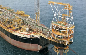 Installation of Kwame Nkrumah FPSO on the Jubilee Field in Ghana.