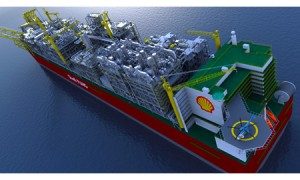 The Board of Royal Dutch Shell's Prelude Floating Liquefied Natural Gas (FLNG) Project in Australia, the world's first FLNG facility.