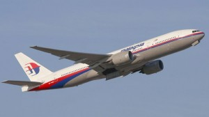 The Malaysian Airlines flight MH17 hours before it was reportedly shot down by missile and crashed into eastern Ukraine, near the Russian border on Thursday.