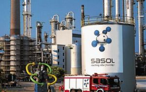 Sasol petrochemical plant, South Africa