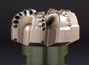 The Schlumberger AxeBlade ridged diamond element bit, (Courtesy Schlumberger).