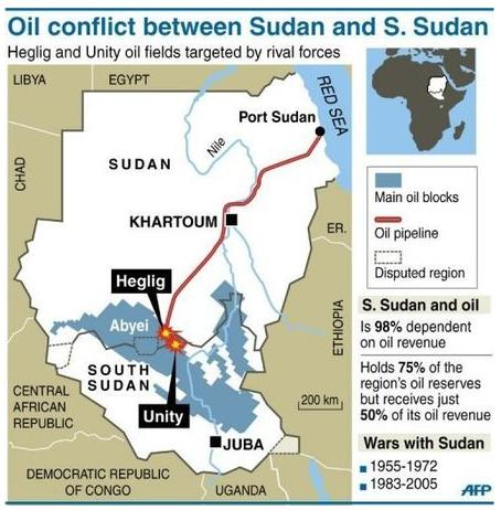 conflict on oil between sudan and Fighting for oil: 21st century energy wars and assorted tribal groupings in south sudan, between the dinka when conflict with the north over its oil.